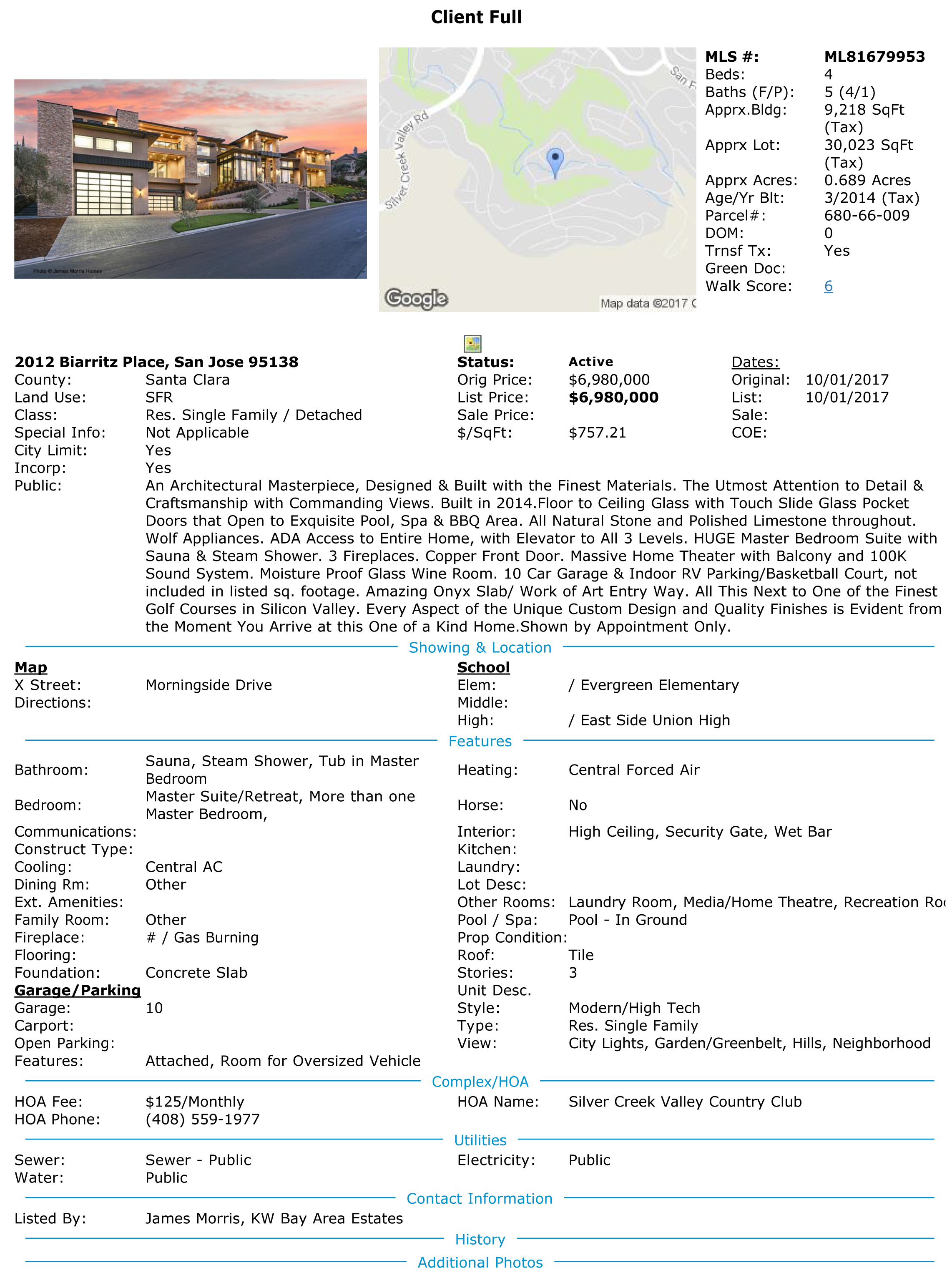 2012 Biarritz Place Real Estate General Contractorreal